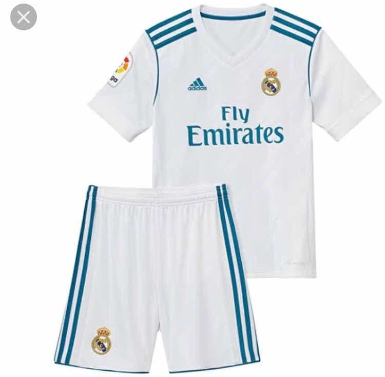 Conjunto Infantil Real Madrid - Super Promoção - R  49 67df2301cd4c1