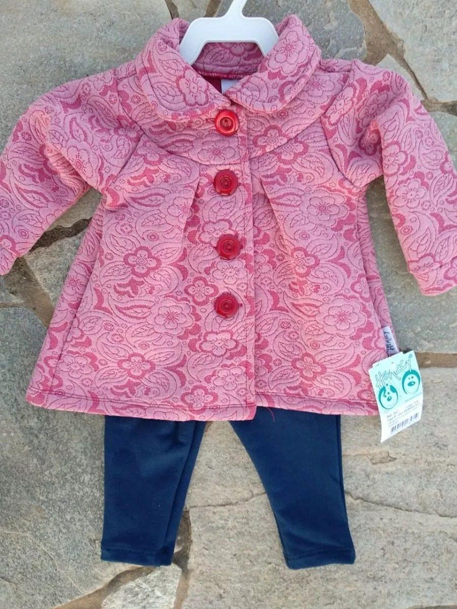 8d8e55b26 conjunto infantil roupa menina inverno casaco henecy oferta. Carregando zoom .