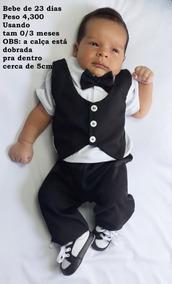 6046d505bb Calça Social Fidelis - Macacão de Bebê no Mercado Livre Brasil