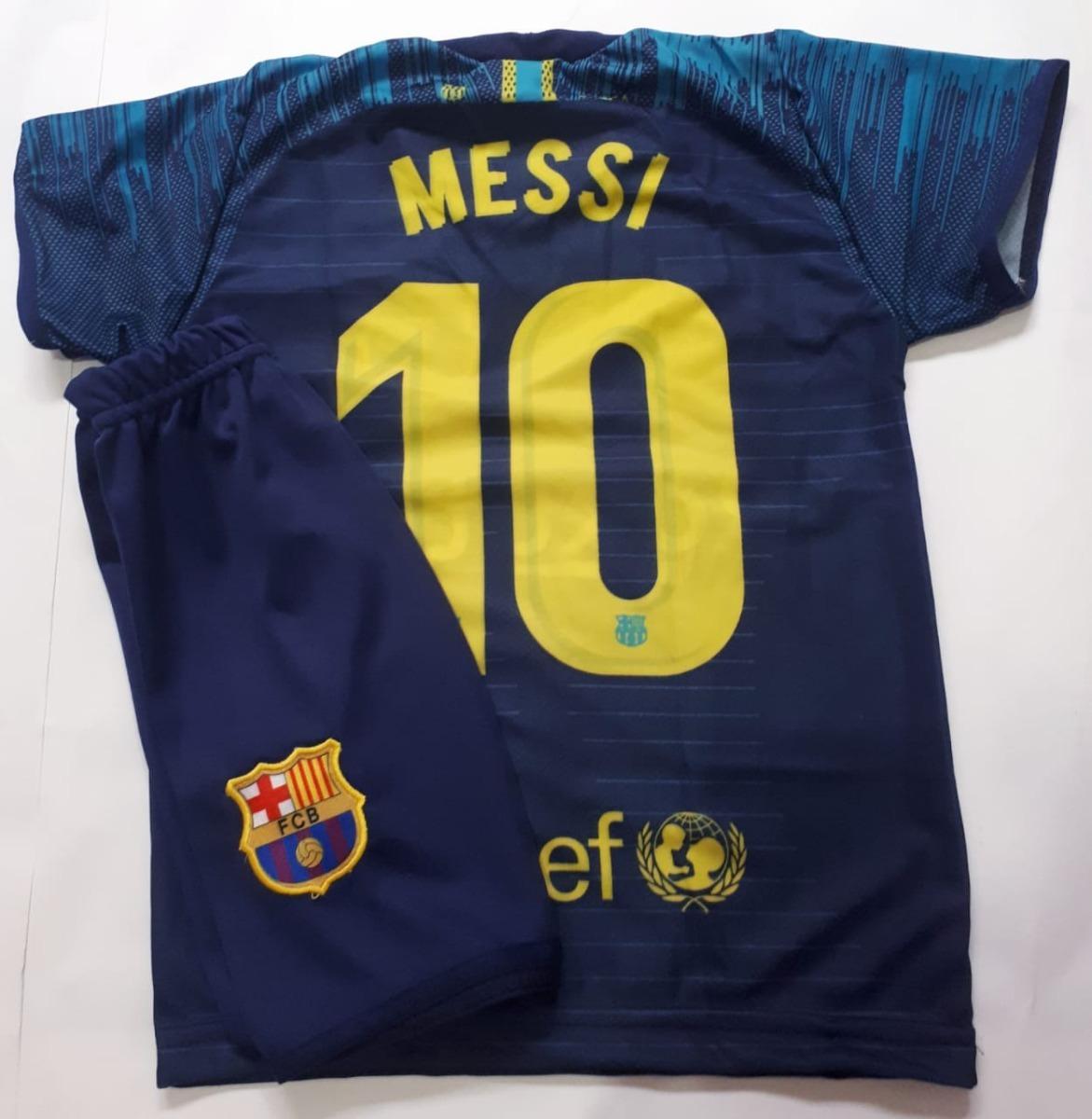 9b9f29de9e81b conjunto infantil uniforme barcelona futebol. Carregando zoom.