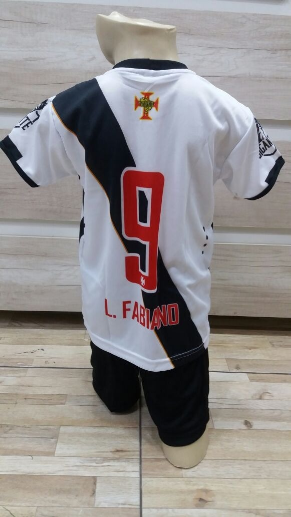 6b72261243 Conjunto Infantil Vasco Da Gama - Futebol Uniforme Menino - R  19