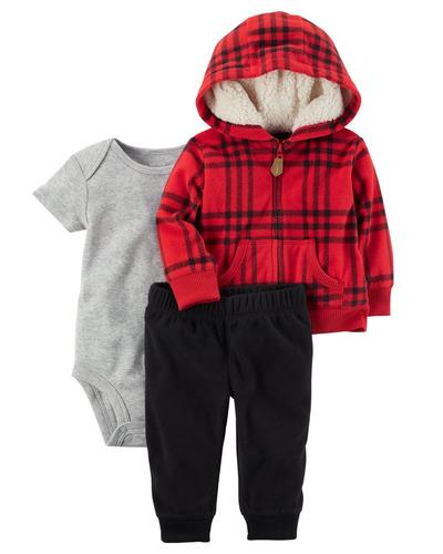 conjunto invierno para niño carter's carters