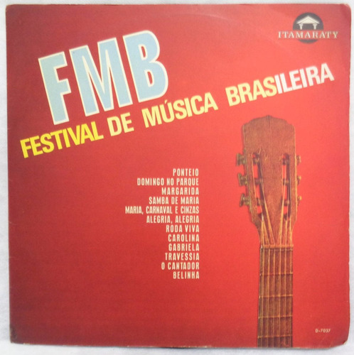 conjunto itamaraty lp nac usado festival de música brasileir