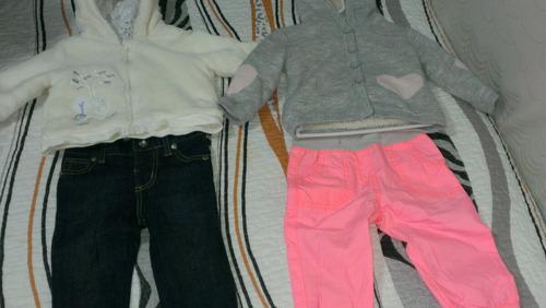 conjunto jeans +casaca  para bebe