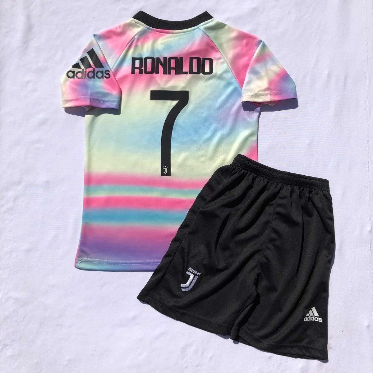 promo code 4319b 07a4b Conjunto Jersey Juventus Niño Digital 4th Kit Fifa 19 2019