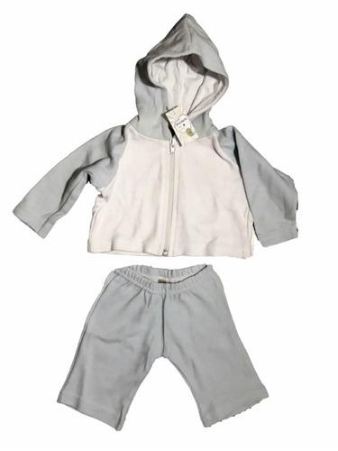 conjunto jogging algodón bebé