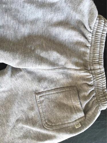 conjunto jogging buzo y pantalón advance frizado