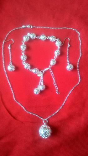 conjunto joyas plata 925