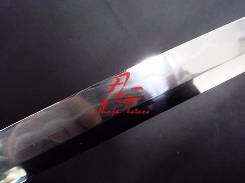 conjunto katana wakizashi daisho espada samurai aço damasco