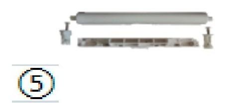 conjunto kit bisagra hall/senso