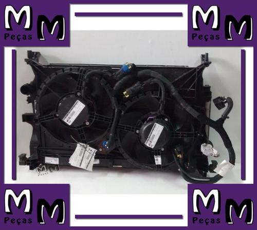 conjunto kit radiador fiat toro diesel mecânica