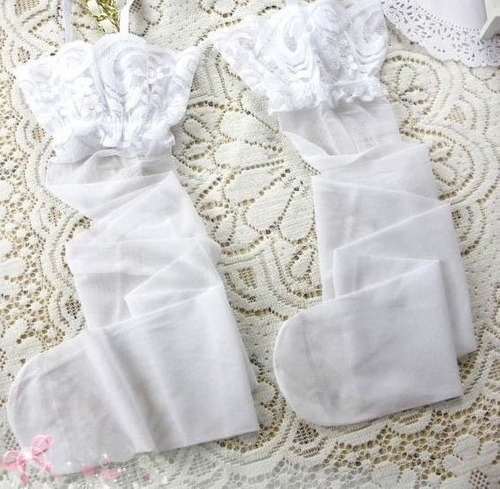 conjunto lencería liguero elegante sexy tanga medias encaje