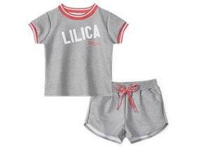 6ed16c9b9 Conjunto Infantil Para Menina Lilica Ripilica N:4 - Calçados, Roupas e  Bolsas no Mercado Livre Brasil