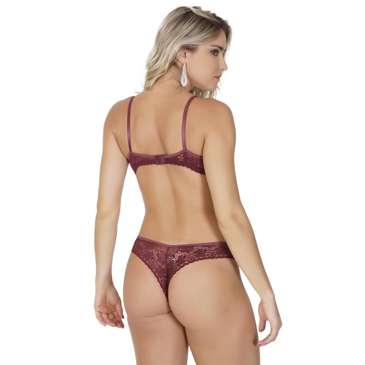 c08462256 conjunto lingerie em renda com detalhes em fita em cetim k10. Carregando  zoom.