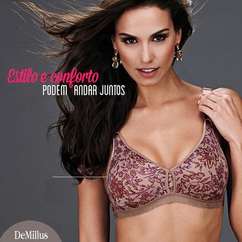 conjunto lingerie plus size firantela / demillus