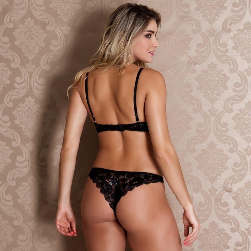 096e25af6 conjunto lingerie premium decote profundo em renda importada. Carregando  zoom.