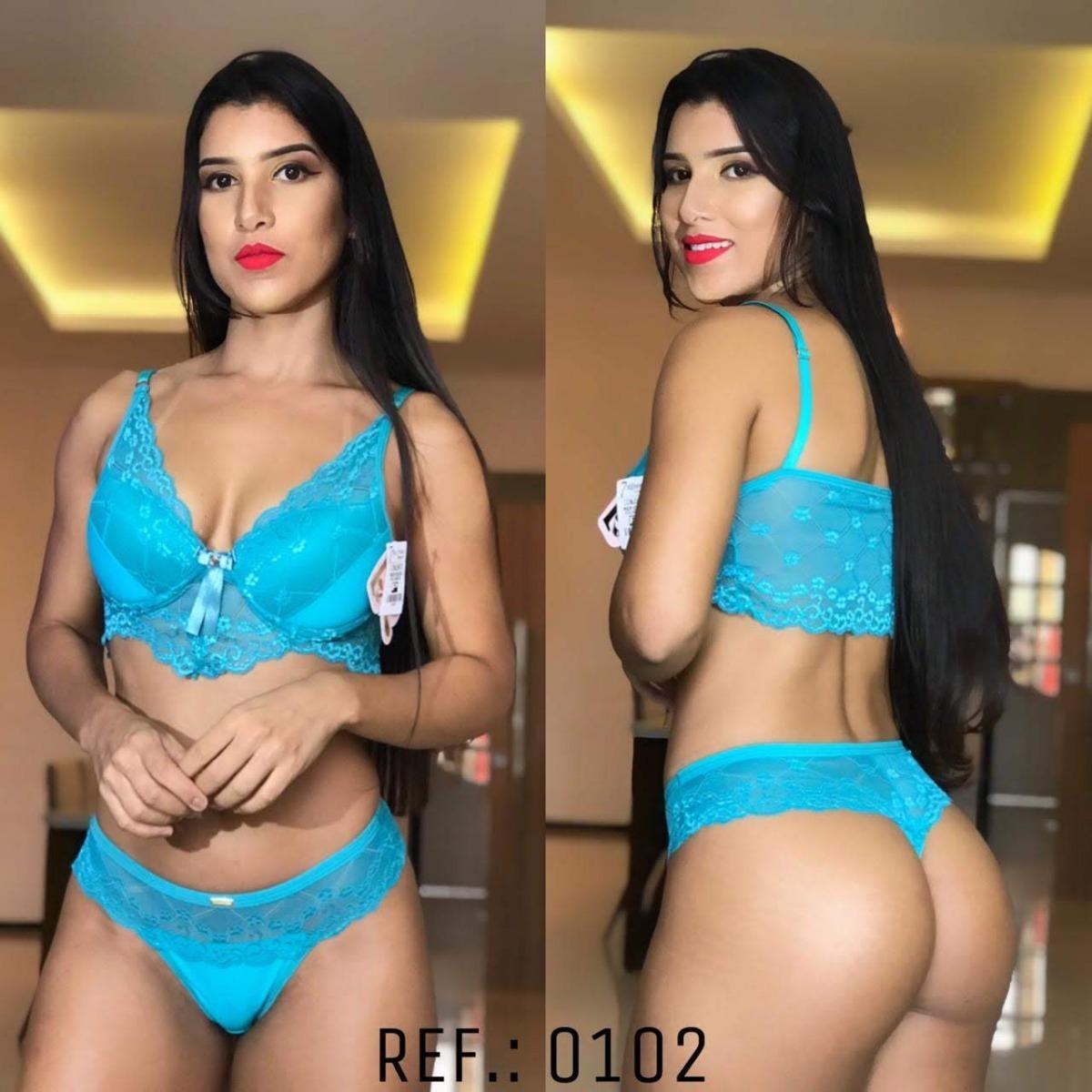 db0f8f9d1 Conjunto Luxo No Atacado Lindas Lingerie Na Promoção Kit 10 - R  179 ...