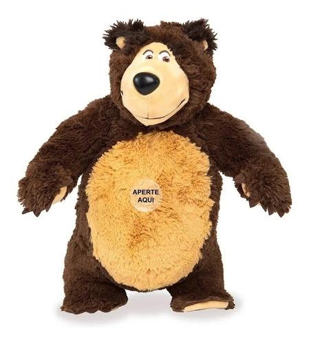 conjunto masha e o urso com som - estrela