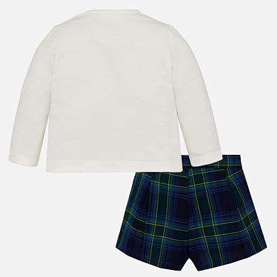 6b621d645 Conjunto Mayoral Camiseta Y Short Bebé Niña 2214, 6 Meses A
