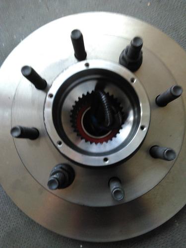 conjunto maza disco bocina delantero f250 original