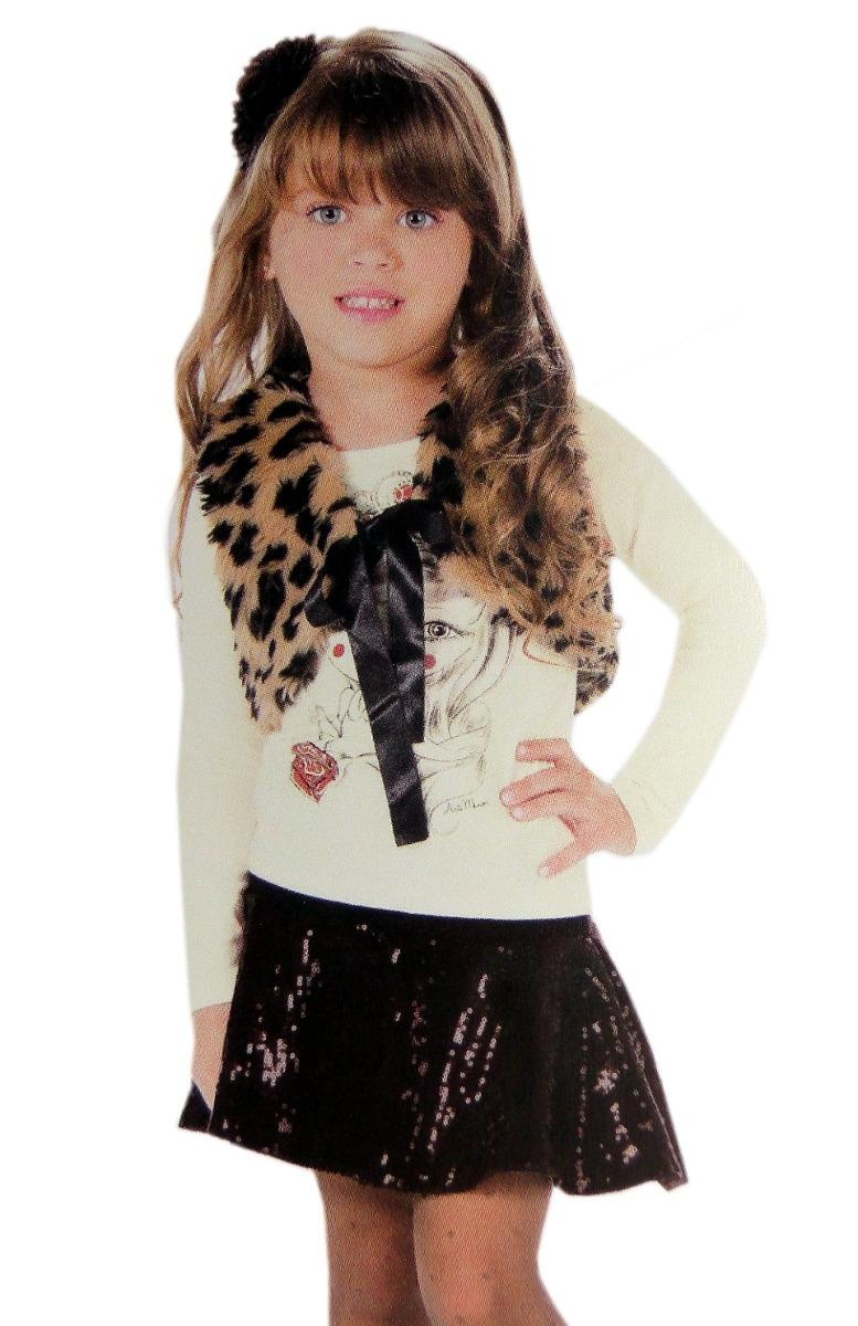 8a6254dd29 Conjunto Menina Camiseta Princesa