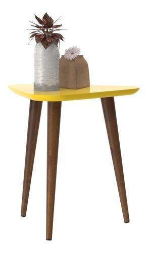conjunto mesa centro e mesa lateral valentina - várias cores