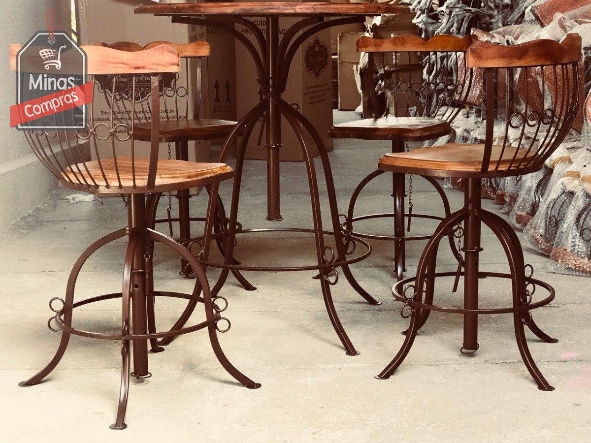 Conjunto Mesa E Cadeiras Cozinha Americana Melhor Acabamento R