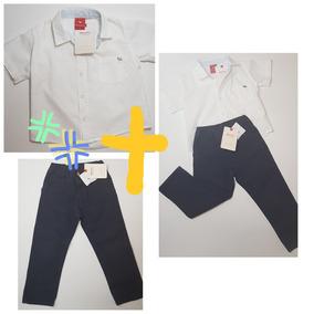 94d50fe6d Conjunto Mimo  co Bebe Pantaln Gabar+camisa Poplin T.3+regal