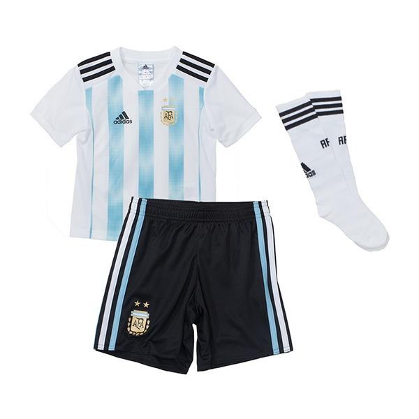 Conjunto Mini adidas Titular Seleccion Argentina 2018 -   1.599 d666d25de4bb7