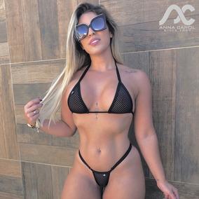 0d2d606c8782 Micro Biquini Fio Biquinis Feminino - Moda Praia com o Melhores Preços no  Mercado Livre Brasil
