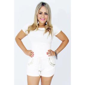 4fd4756d15 Short Corselet - Vestidos Curtos Femininas Azul marinho no Mercado Livre  Brasil