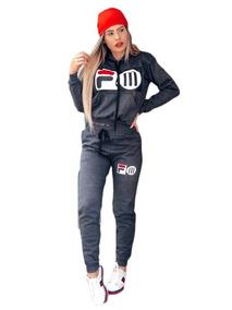 5f03330248c Kit 5 Conjunto Moletom Fila Melissa Feminino Moda Blogueira