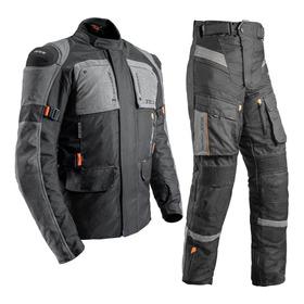 Conjunto Moto Texx Jaqueta Parka Calça Armor Impermeável