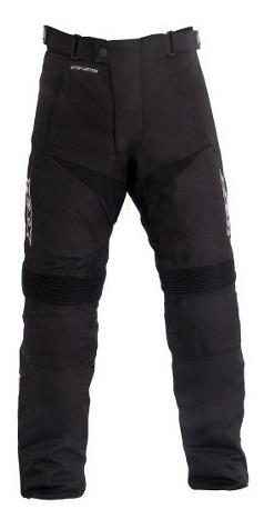 conjunto motoqueiro jaqueta + calça texx strike impermeavel