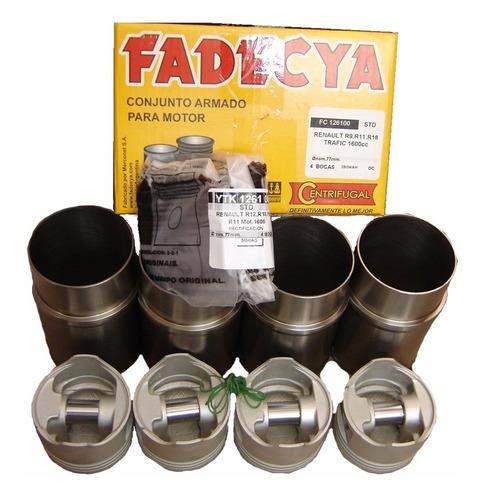conjunto motor fadecya renault 18 21 fuego 2.000cc