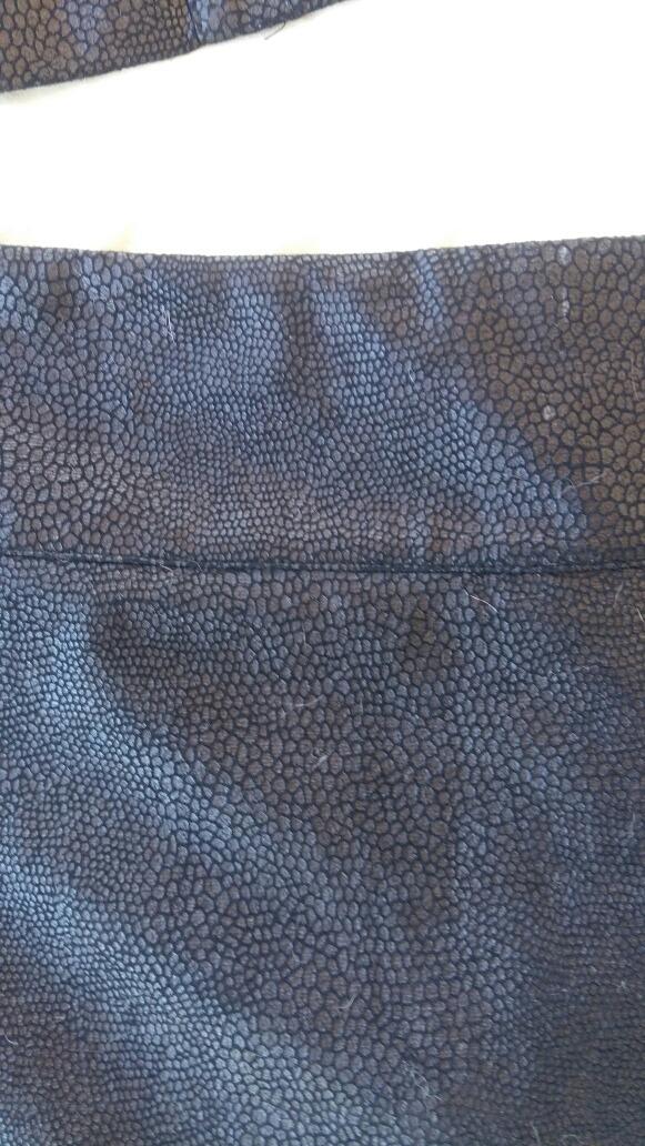 85ea397e5 Conjunto Negro Campera Liviana Y Pollera Falda Mini Ts