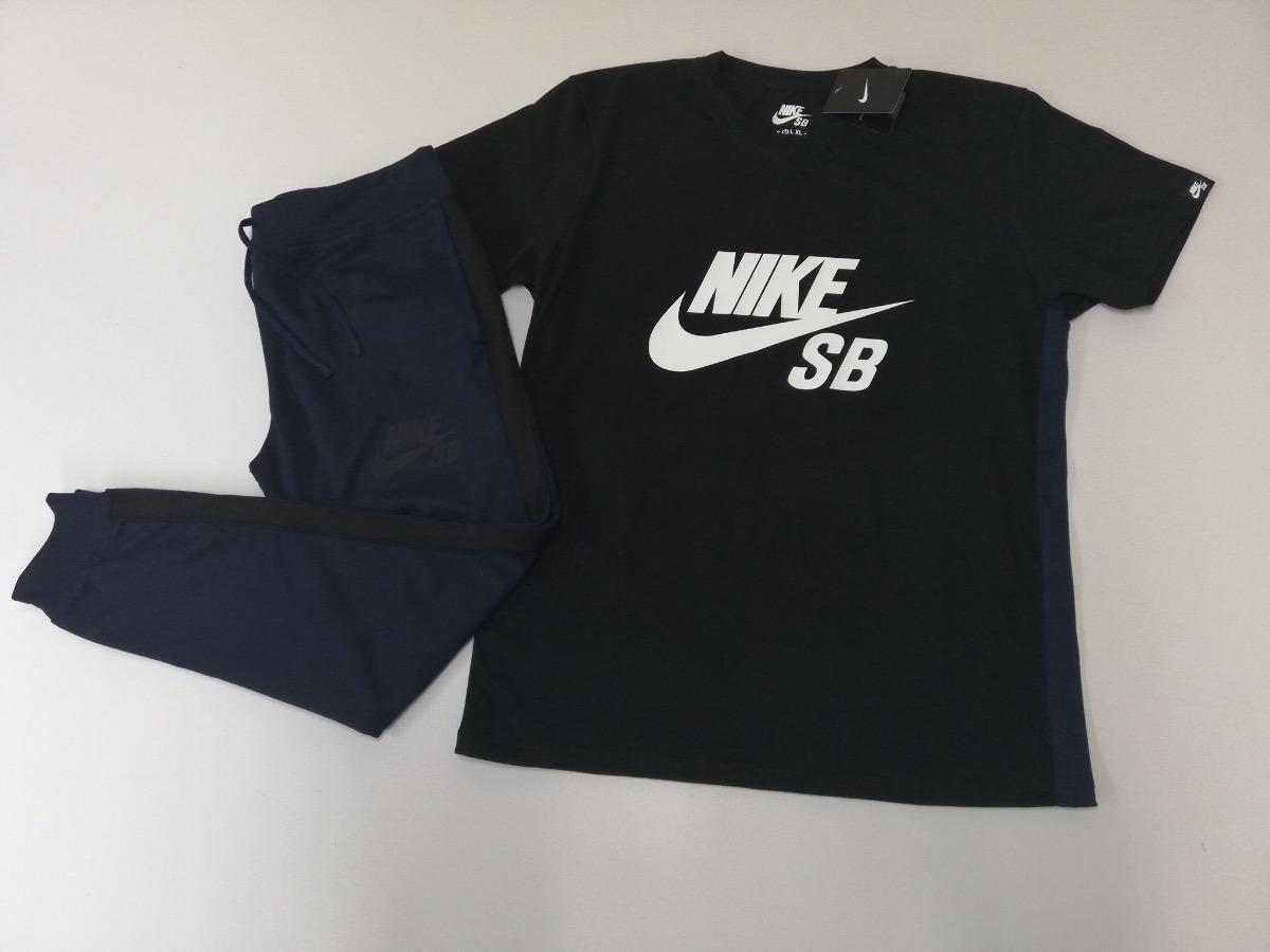 e4945878dd90a conjunto nike air - sudadera jogger nike + camiseta nike. Cargando zoom.
