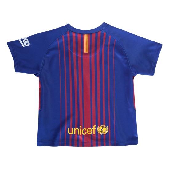 Conjunto Nike Junior Fc Barcelona 2017-2018 - S  389 7322bd6e8c48a