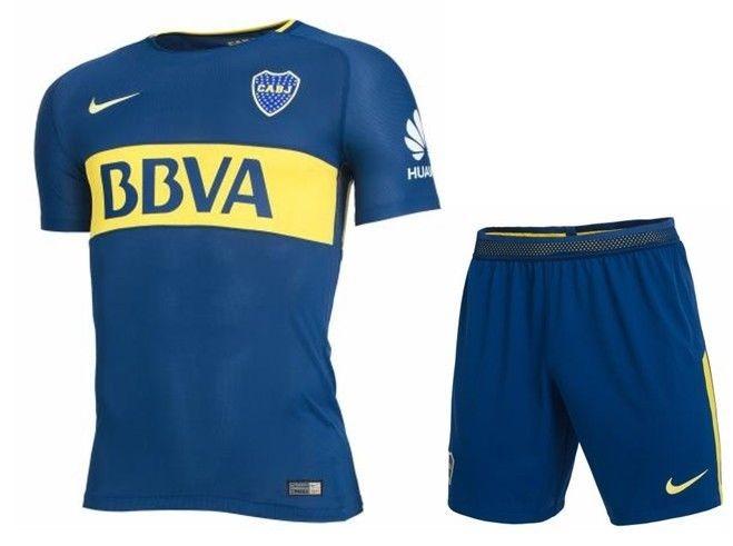 Conjunto Niño Boca 2018 Camiseta Pantalón Short Original -   899 347669896e978