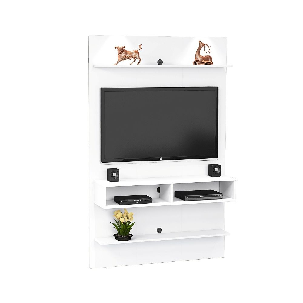 Aparador Mesa Jantar ~ Conjunto Painel Tv, Mesa De Centro E Aparador Sala Branco