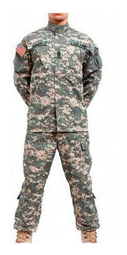 conjunto pantalón campera camuflado caza ejercito mvdsport