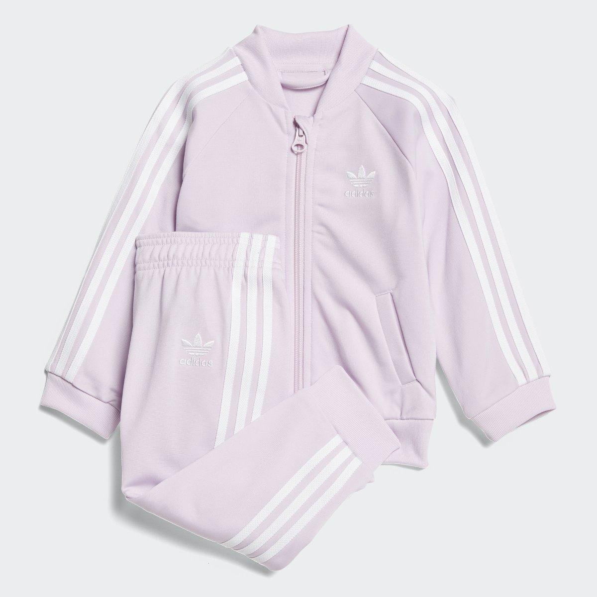 conjunto pants y sudadera bebe niña adidas originals ce1151. Cargando zoom. 7386c70d144e
