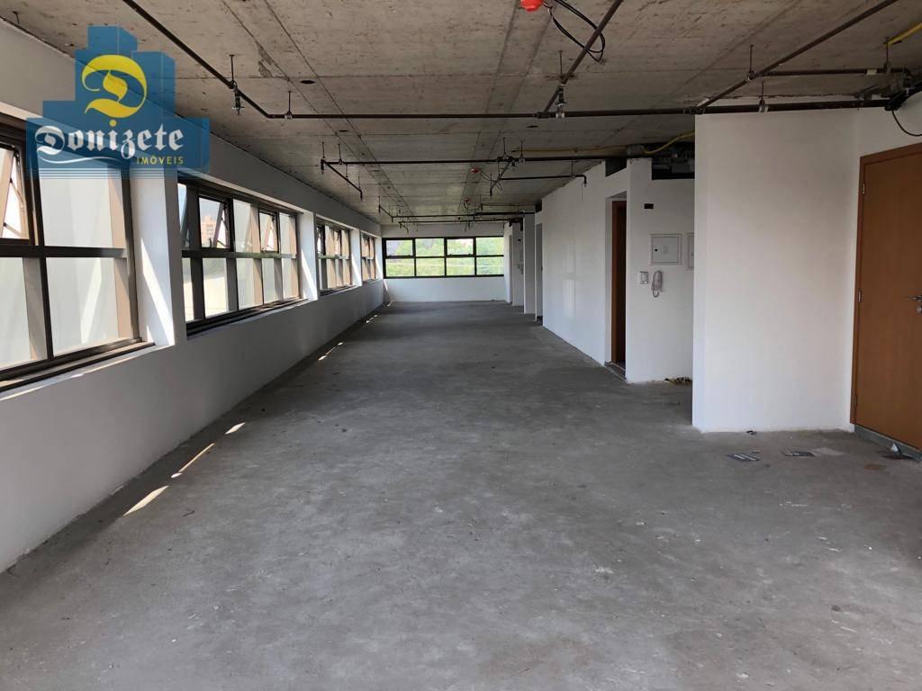 conjunto para alugar, 160 m² por r$ 8.000,10/mês - jardim - santo andré/sp - cj0004