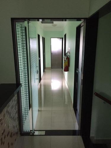 conjunto para alugar, 200 m² por r$ 3.000/mês - jardim paulistano - ribeirão preto/sp - cj0009
