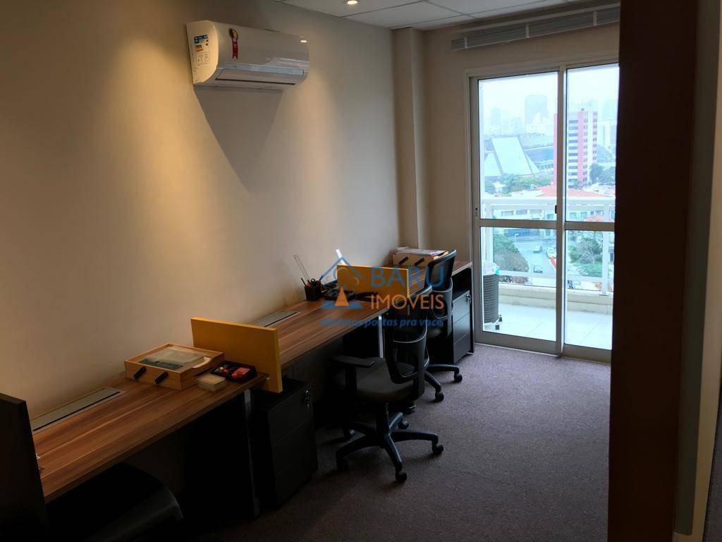 conjunto para alugar, 40 m² por r$ 3.500,00 - pinheiros - são paulo/sp - cj9086