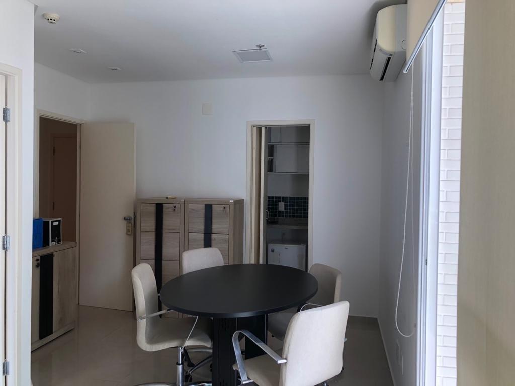 conjunto para alugar, 48 m² por r$ 2.800,00/mês - boqueirão - santos/sp - cj0017