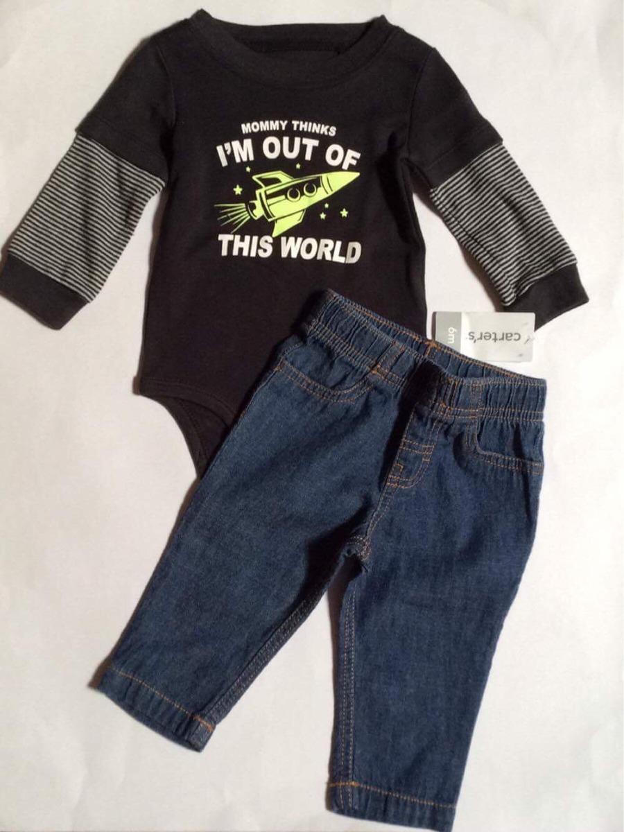 74b469f8e49 Conjunto Para Bebe Niño 6 Meses Pañalero Y Jeans Carters -   520.00 ...