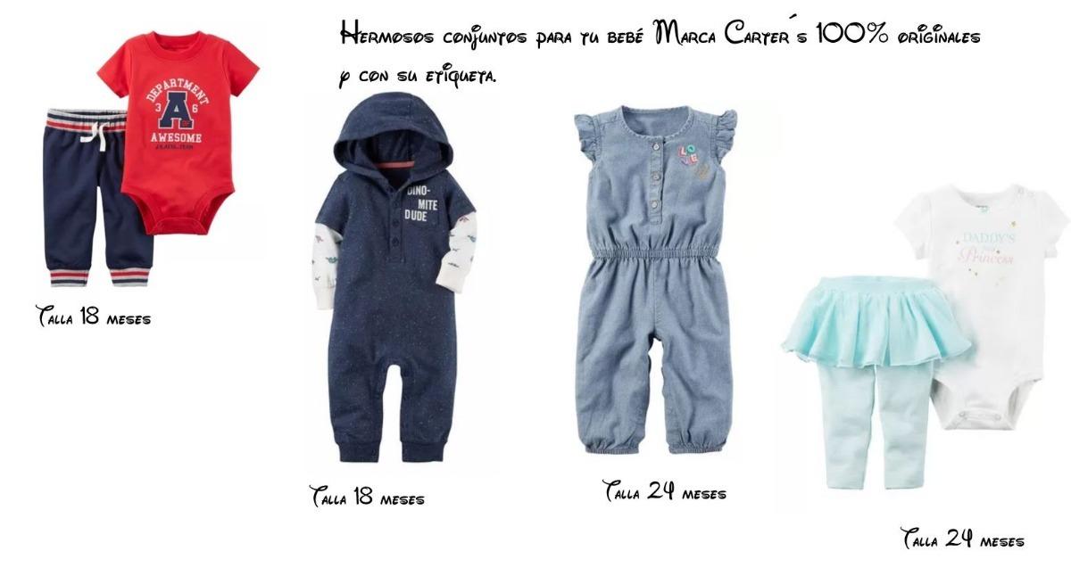 Conjunto Para Bebé Marca Carter´s -   270.00 en Mercado Libre ef1051eb9db
