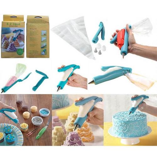 conjunto para confeitar e decorar bolo- 2 kits