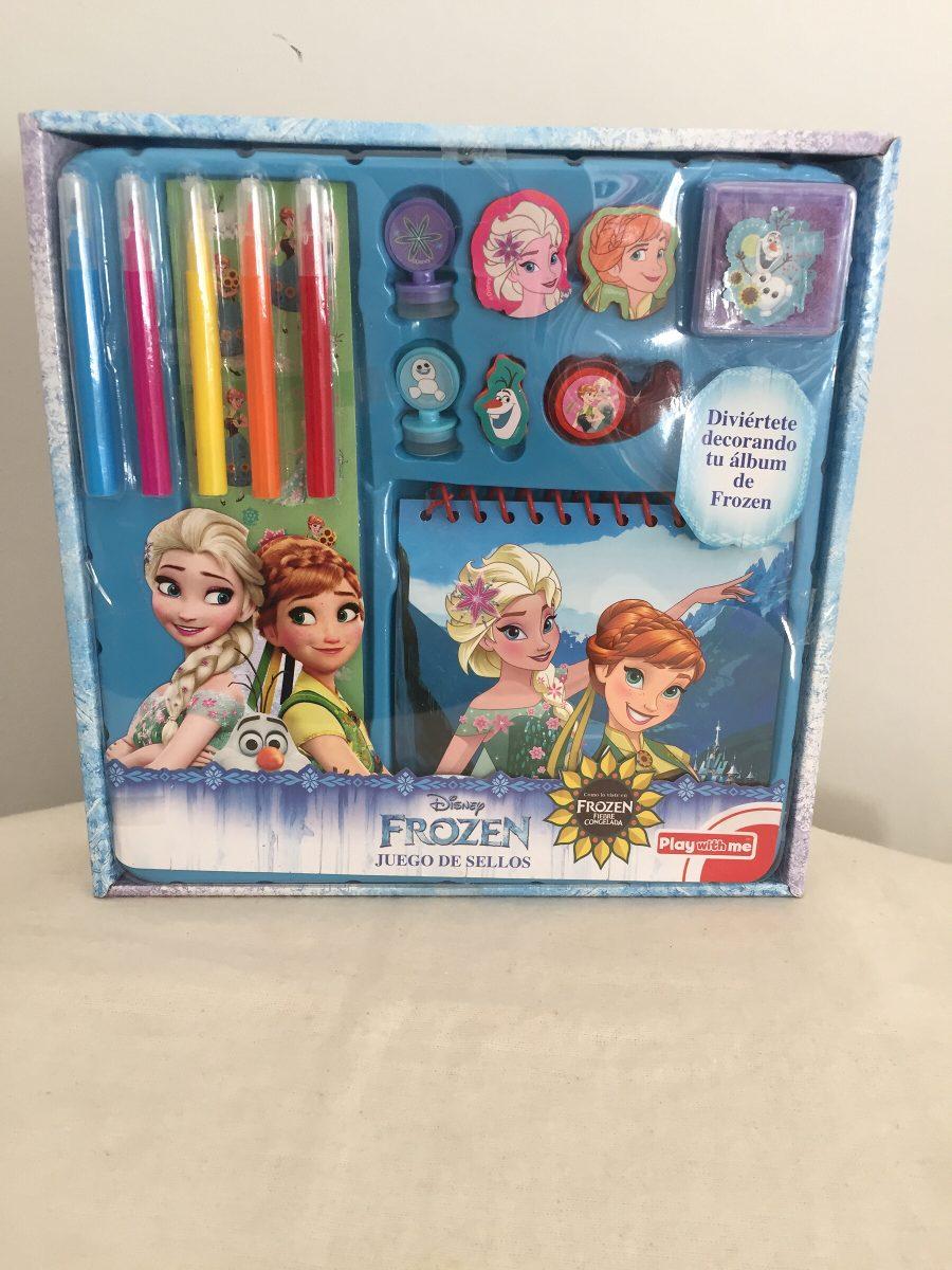 Conjunto Para Desenhar E Pintar Disney Frozen Anna E Elsa R 85